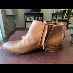 Sam Edelman Petty Brown Leather Bootie Sz 11